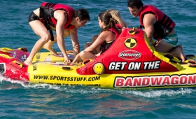 Water sports: towed buoys, etc.